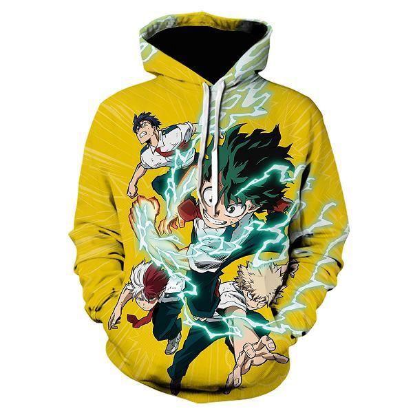 Streetwear homme,Nouveau 3D Anime Himiko Toga sweats à capuche mon héros académique imprimé sweat à capuche Cosplay Costumes vêteme