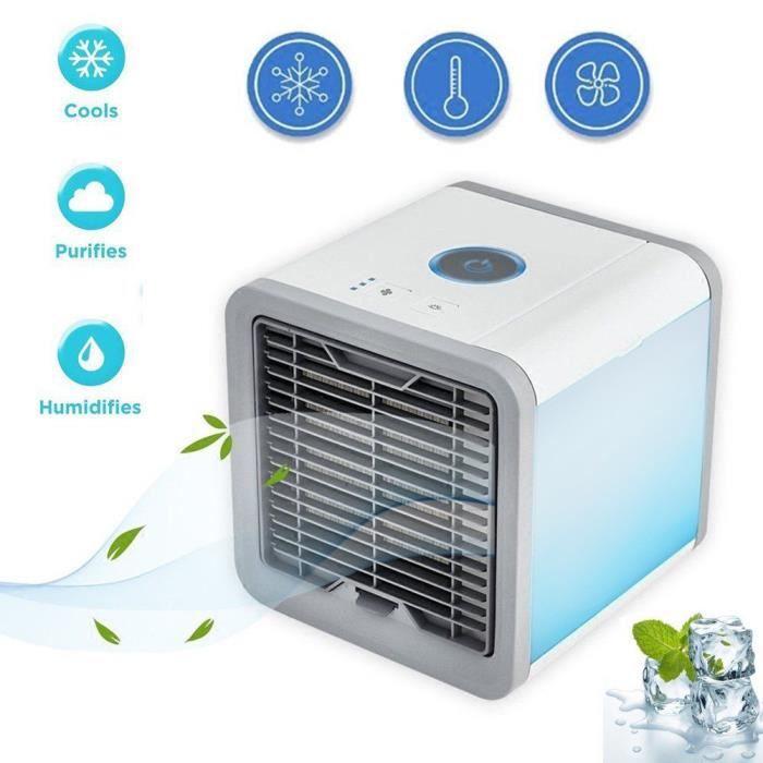 ONEVER Climatiseur ventilateur et refroidisseur d'air mobile USB