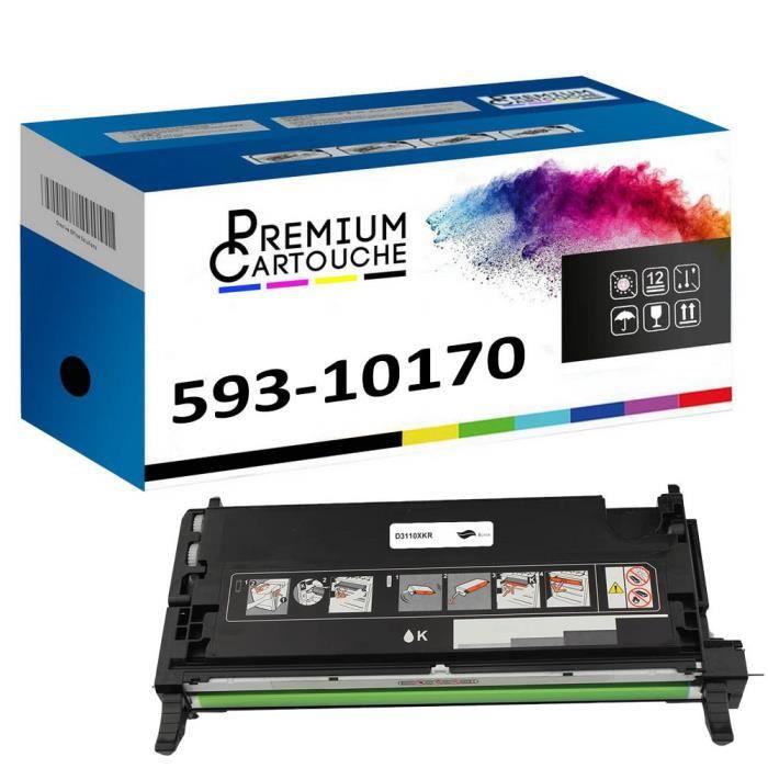 Toner 593-10170 PF030 Noir Compatible pour Dell 3110cn 3115cdn 3115cn Dell 3110cn 3115cdn 3115cn