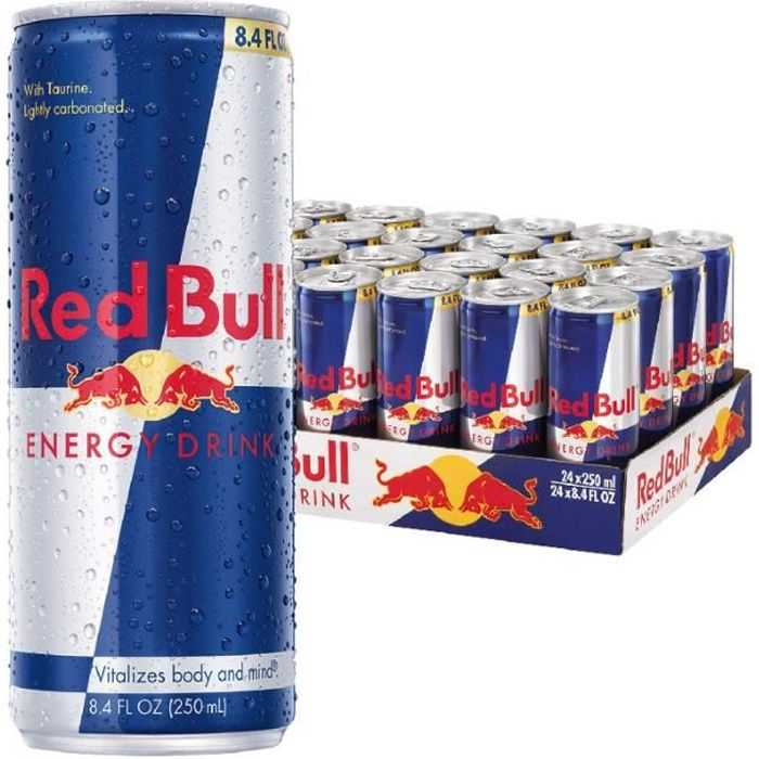 Energy Drink - Red Bull boîte 25 cl x 24 unités