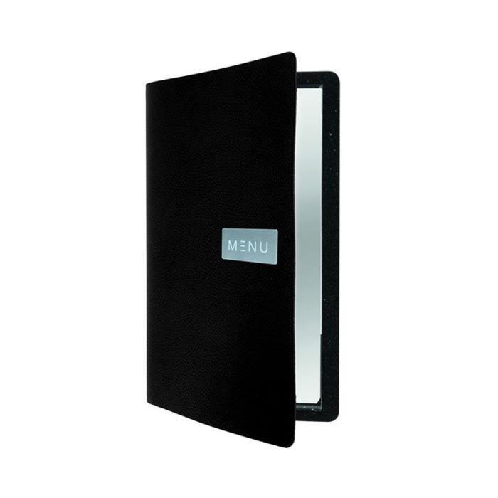 Protège-menu cuir noir RAW 0,5 Cuir