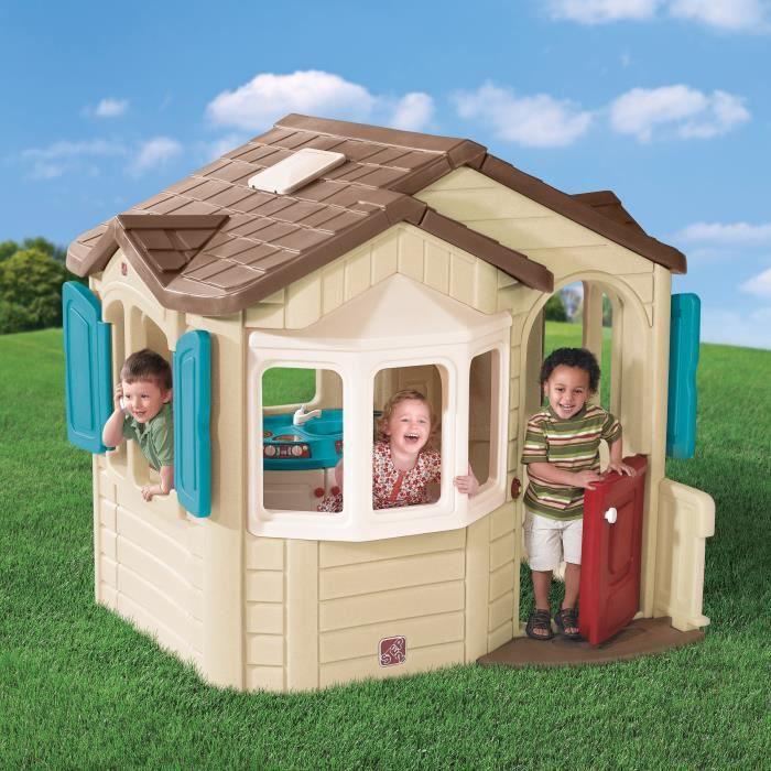 STEP 2 - Maison pour Enfant Welcome Home - 185 x 168 x H.168 cm