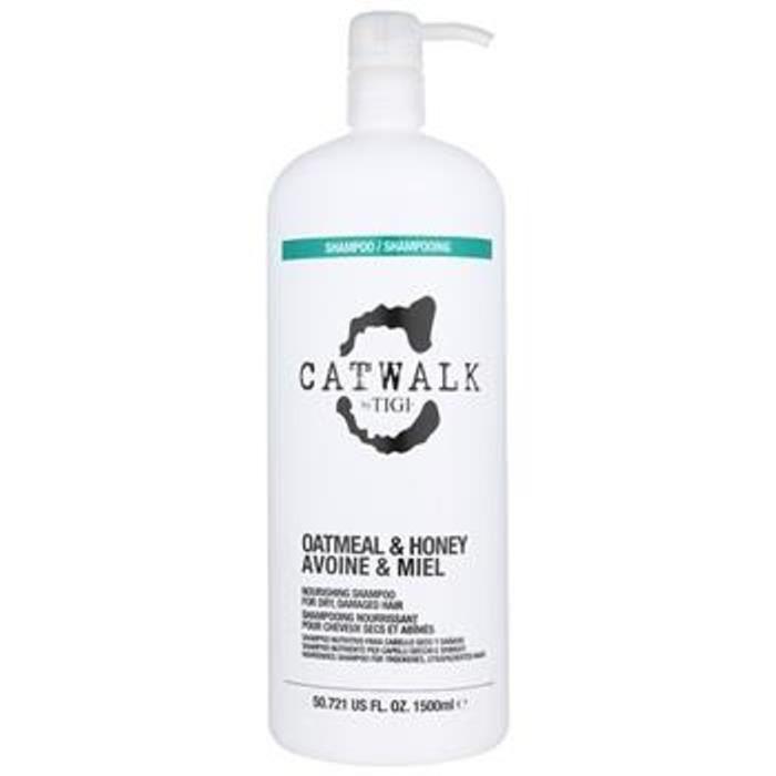 TIGI Catwalk Flocons d'avoine et miel Shampooing 1500ml