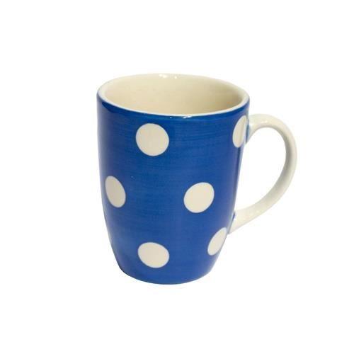 Mug pois 30 cl bleu fort - Trend'up NEURE Bleu