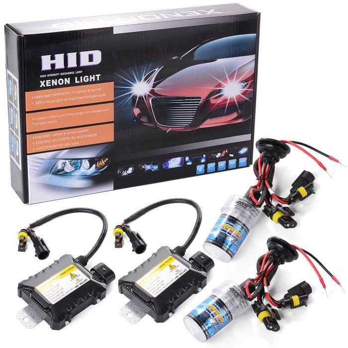 XCSOURCE® 55W HID Lampe à Xéon Headlig, ht Lampe Kit de Conversion H7 8000K Ampoule de rechange MA99
