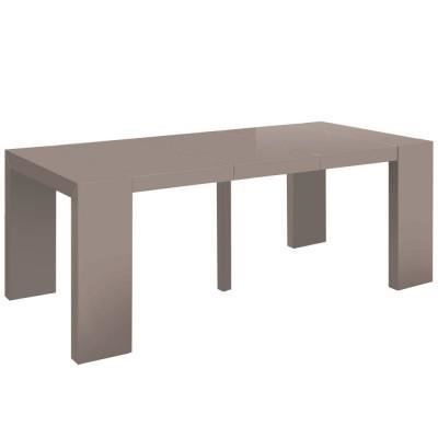 Table console mango taupe achat vente table manger table console mango - Table a manger taupe ...