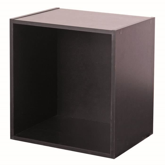 cube de rangement noir achat vente meuble tag re cube. Black Bedroom Furniture Sets. Home Design Ideas