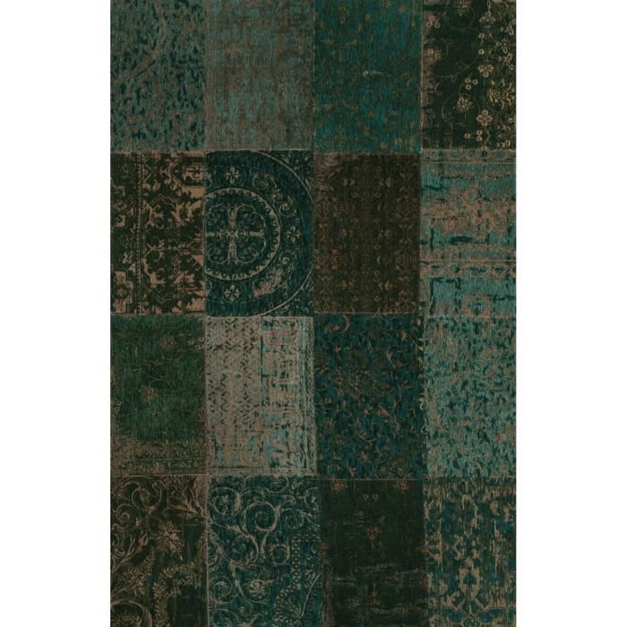 multi vert fonce 140x200 par de porteere deco tapis naturel achat vente tapis cdiscount. Black Bedroom Furniture Sets. Home Design Ideas