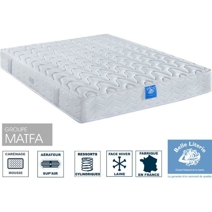 matelas diad me 21cm belle literie par ameline 90x190 achat vente matelas cdiscount. Black Bedroom Furniture Sets. Home Design Ideas