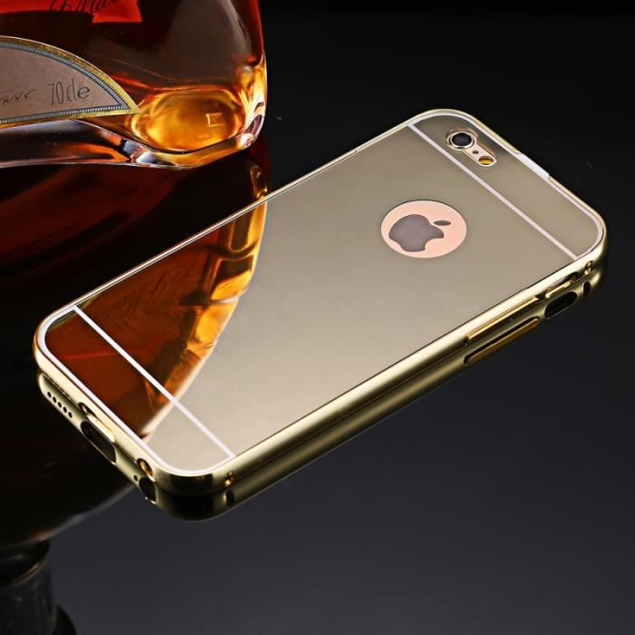 iphone 5c gold coque miroir bumper aluminium iphone 5c gold achat coque 8119