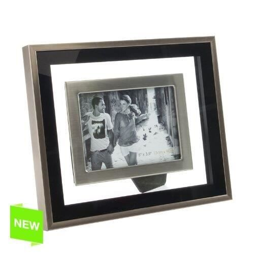 cadre photo aluminium 9x13 cm achat vente cadre photo cdiscount. Black Bedroom Furniture Sets. Home Design Ideas