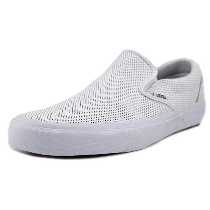 vans homme chaussure slip cuir