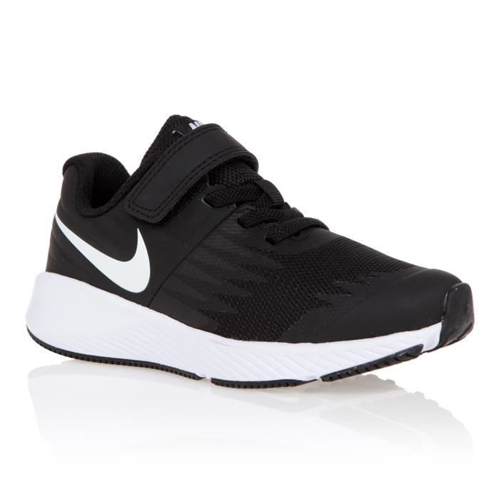 BASKET MULTISPORT NIKE Baskets Star Runner - Enfant mixte - Noir et