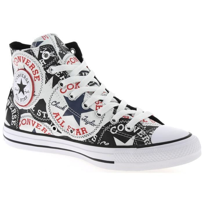 converse all star montante noir