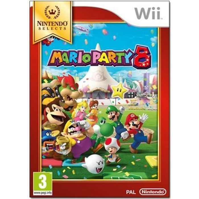 JEUX WII Mario Party 8 Wii