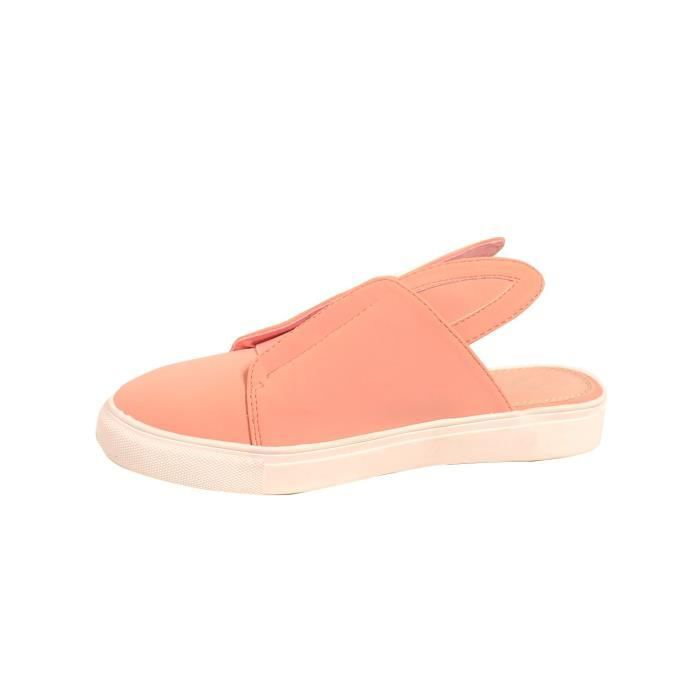 Super Cute Rabbit Slip On Slippers QSFDW Taille-37