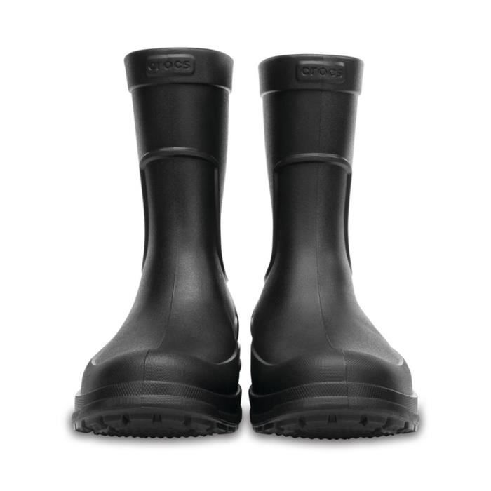 Crocs ALLCast Men's Rain Boot, Black