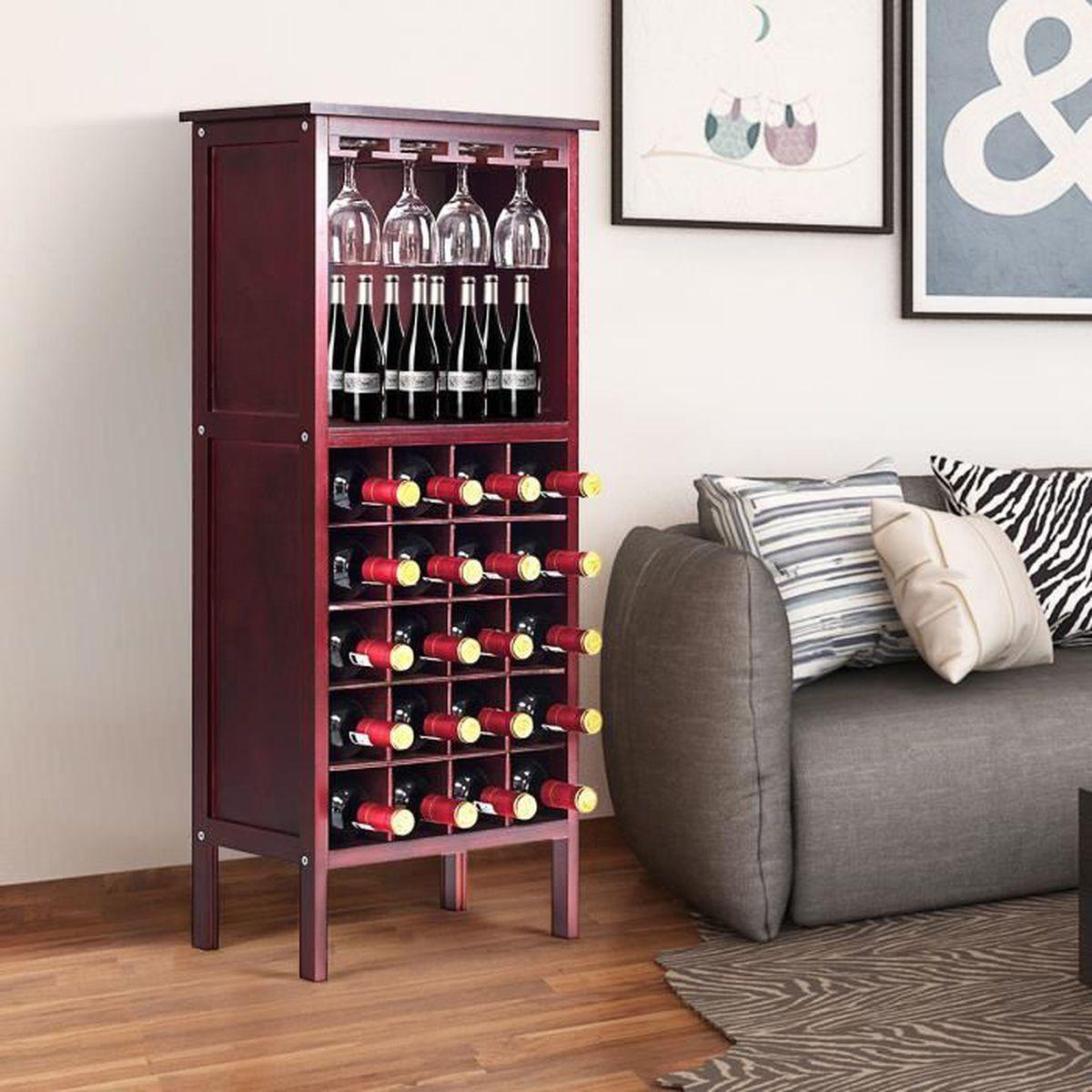 Fabriquer Casier À Bouteilles En Bois meuble pour bouteilles de vin