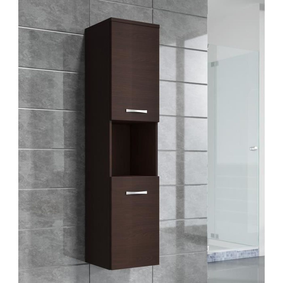 Best colonne salle de bain wenge ideas for Meuble brick montreal
