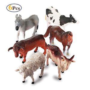 FIGURINE - PERSONNAGE Figurine Miniature ODKNH animaux de ferme figure j