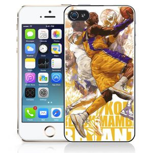 coque iphone 4 4s kobe bryant cartoon nba