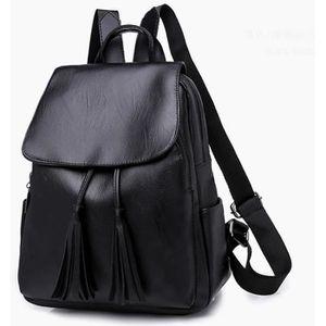 Style Noir Pur NICOLE /& DORIS Femmes Nouveau Nylon imperm/éable Oxford Sac /à Dos en Tissu Version cor/éenne /étudiant Simple Sac /à Dos d/écontract/é