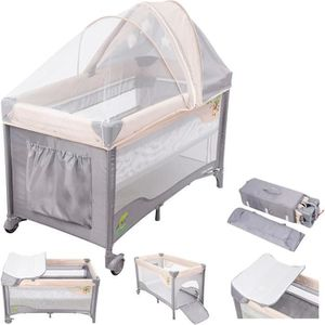 LIT PLIANT  Moby System Lit de voyage Parapluie pour bébé 0 -