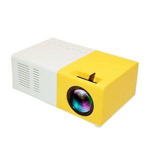 Vidéoprojecteur Full HD 1080p Mini Portable Vidéo Projecteur 1600