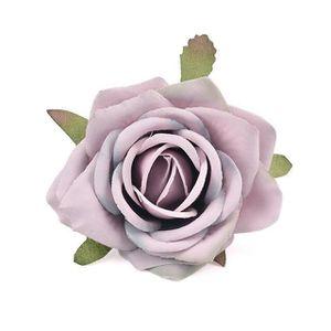 tete de rose blanche artificielle