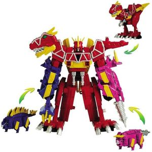 ROBOT - ANIMAL ANIMÉ POWER RANGERS DX Megazord Dino Charge 30 cms