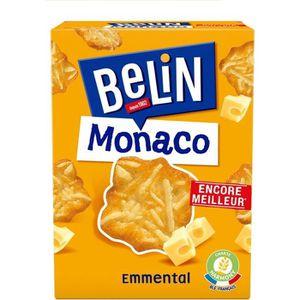 BISCUITS APÉRITIF Belin Crackers Monaco Emmental 100g