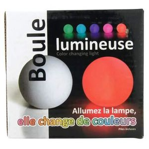 lampe boule changement de couleur achat vente lampe boule changement de couleur pas cher. Black Bedroom Furniture Sets. Home Design Ideas