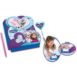 LIVRE INTERACTIF ENFANT LA REINE DES NEIGES Agenda Secret Electronique