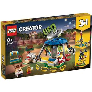 ASSEMBLAGE CONSTRUCTION LEGO® Creator 31095 Le manège de la fête foraine