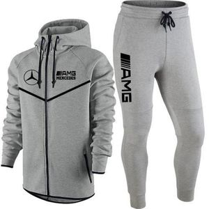 61406dd8b2e Ensemble de vêtements JOGGING AMG MERCEDES TAILLE XS survetement gris cl