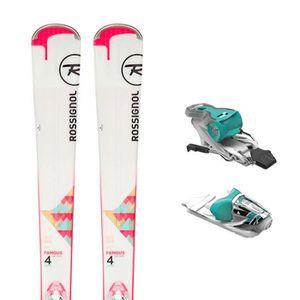 SKI ROSSIGNOL Famous 4 Ski + Xpress W 10 B83 Fixations