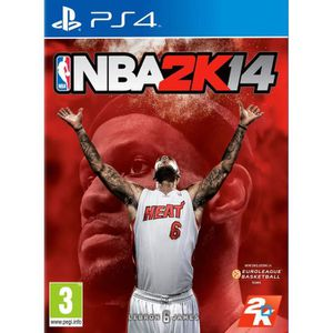 JEU PS4 jeu NBA 2k14 playstation 4 - ps4