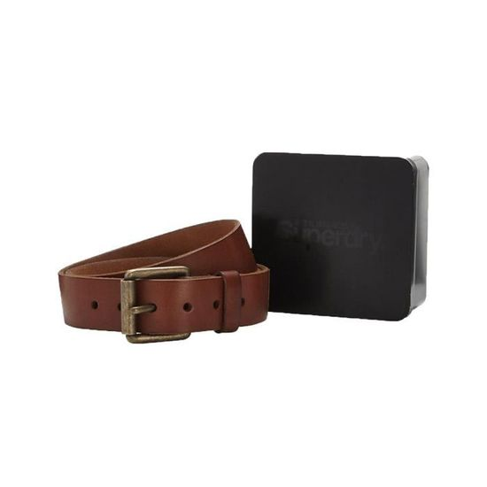 new cheap cute cheap top quality Accessoires homme Ceintures Superdry Western Classic Belt In A Tin