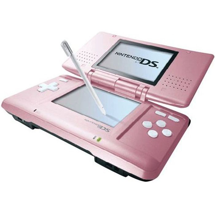 nintendo ds achat vente console ds lite dsi console ds rose cdiscount. Black Bedroom Furniture Sets. Home Design Ideas