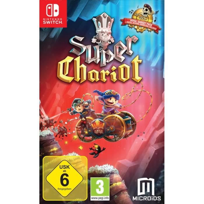 Super Chariot Jeu Switch