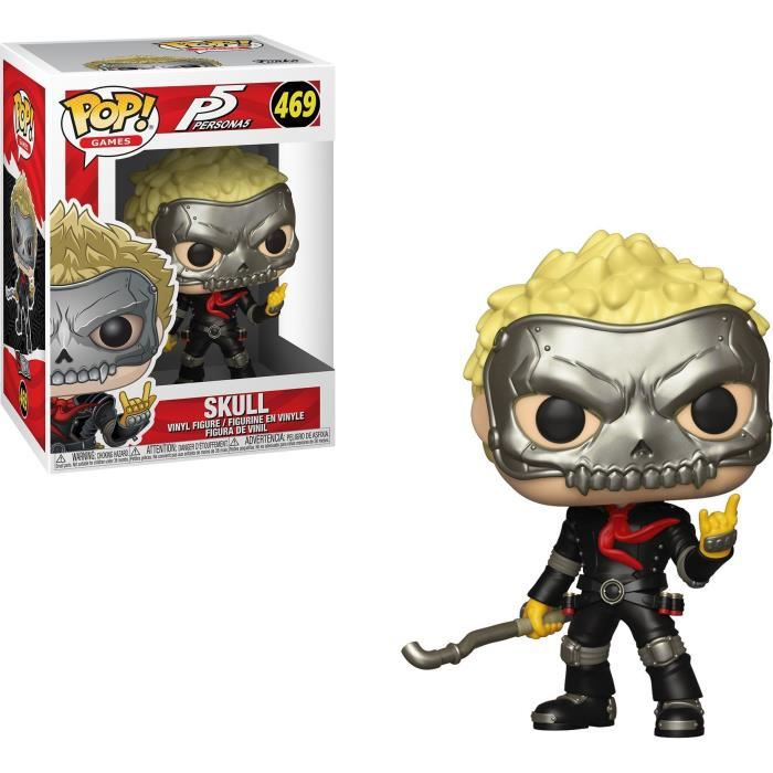 Figurine Funko Pop! Games: Persona 5 - Skull