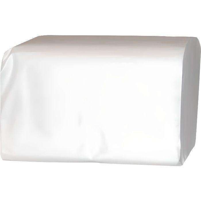 Papier toilette pure ouate blanche 230 feuilles 10,3x17 cm - Prop