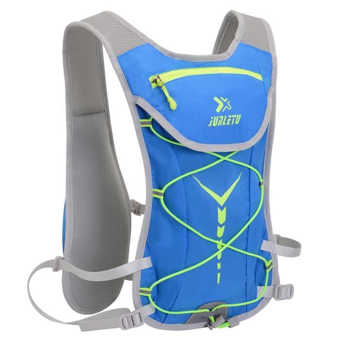 Sac d'hydratation pour vessie à eau 2L grande capacité résistant à l'usure respirant léger pour randonnée cyclisme course-d