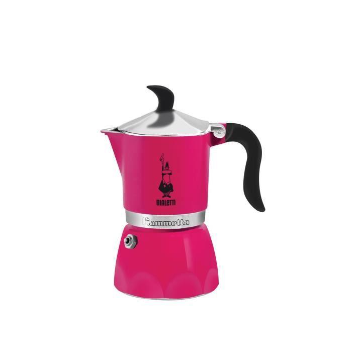 Bialetti Fiammetta, Autonome, Machine à café filtre manuelle, Café moulu, Fuchsia