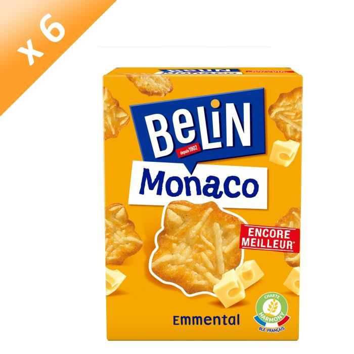 [LOT DE 6] Biscuits crackers 100 g Belin