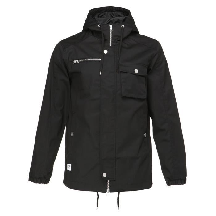 WESC Veste Hooded the field - Homme - Noir