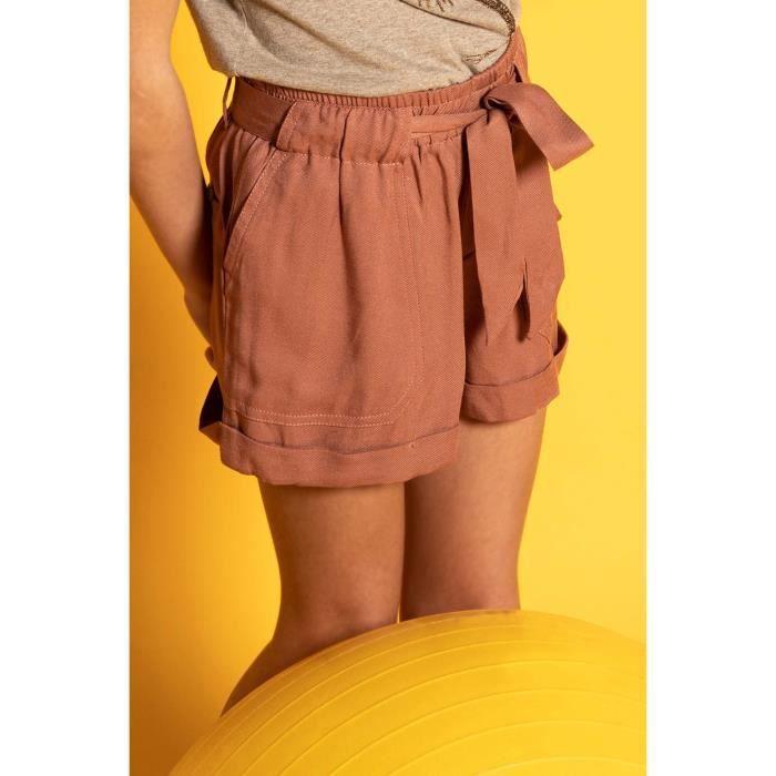DEELUXE Short fluide avec poches plaquées MERIDA Blush