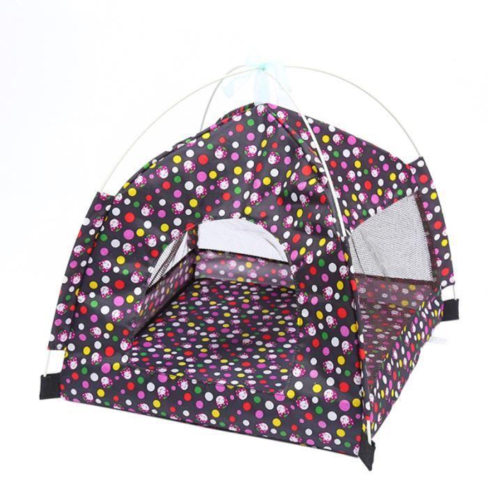 1Pc tente en maille abri solaire maison de chien en plein air de chat pour animaux de compagnie de pour TENTE DE PRESENTATION