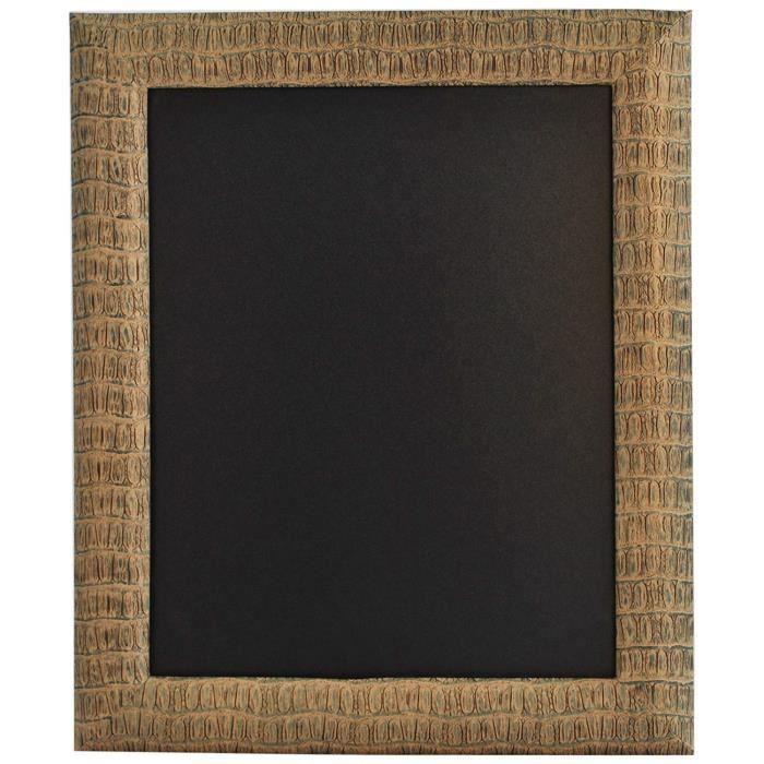 Securit Tableau noir mural 47 x 57 cm Reptile Conçu pour planche - WBU-DR-REPTILE