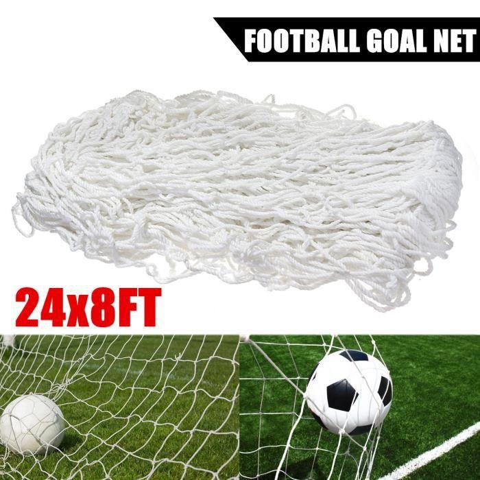 7.3x2.4m Filet de Football Buts en Polypropylène Haute Résistance Sport Formation